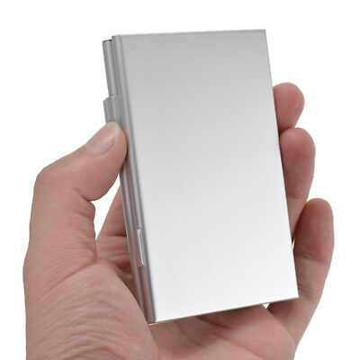 Aluminum 6 Slots Storage Boxtector for·MMC/SD/SDHC Memory Card Case Holder. DE#
