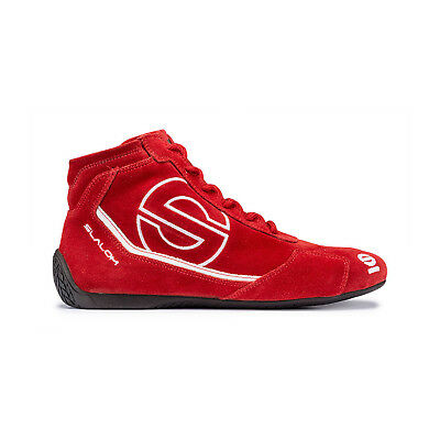 Sparco SLALOM RB-3 Red Racing Shoes (FIA) - Genuine - 44 (9.5 UK) (10 US)