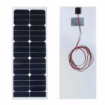 AUSTOCK SS-30W12V 730x280x2.5mm 12V 30W Solar Panel Photovoltaic Semi Flexible F