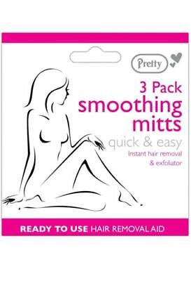 Pretty Smooth 3 Pack Smoothing Mitts-Free P&P