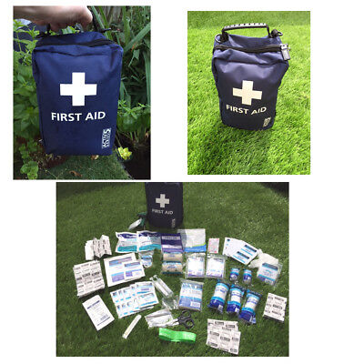 175 Piece Premium Trauma Emergency First Aid Kit Compact  | Robust