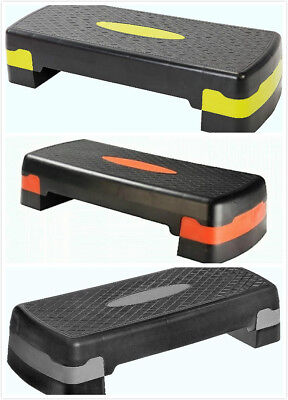 3 Level Aerobic Stepper Adjustable Yoga Step Board Gym Fitness Exercise-NEXT DAY