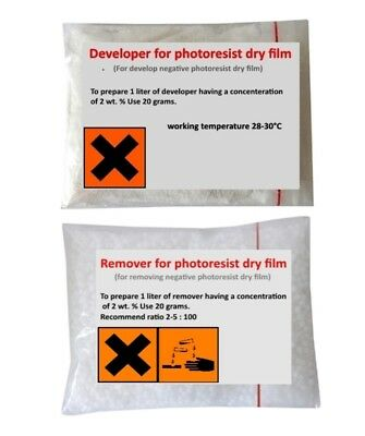 Developer and Resist Remover For Negative Photoresist Dry Film