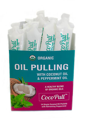 Coconut Oil Pulling Mouthwash, Instantly Fresh Breath Remedy, Teeth Whitening