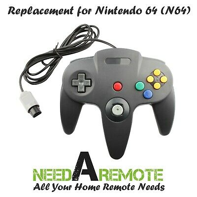 1 PC NEW Long Controller Video Game System for Nintendo 64 N64 Gray US Ship