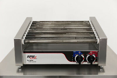Used APW HRS-31S 30 Hot Dog Slant Top Roller Grill