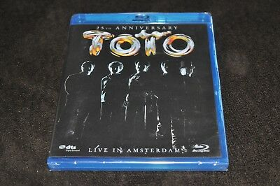 Toto - 25th Anniversary: Live in Amsterdam (Blu-ray Disc, 2006)