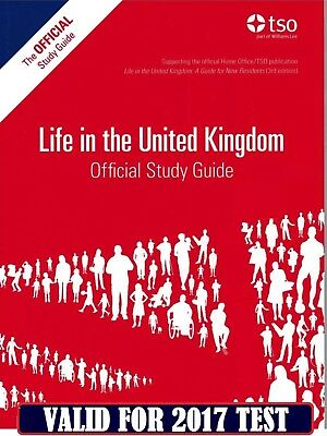 DVD Life in the UK 2017 British Citizenship Test 3 Books Collection Set Pack DVD