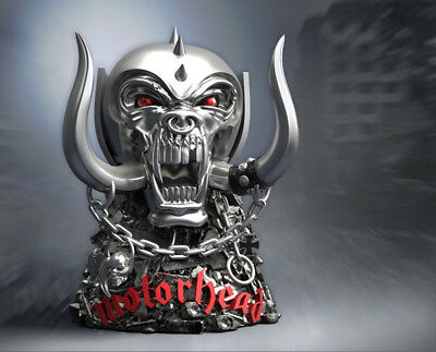 Official Motorhead Warpig Rock Iconz Statue - Limited Edition Numbered Gift Rare