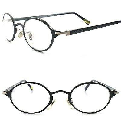 360a77ecc6 True Vintage Classic Mens Womens Clear Lens Oval Round Eye Glasses Gray  Frame