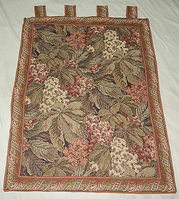 Large Vintage French Beautiful Verdure Scene Tapestry 99x78cm (A359)