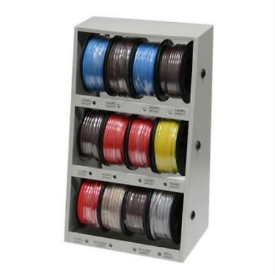 Grip Tools 12-Spool Automotive Wire Assortment with Steel Rack