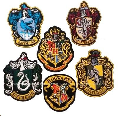 HARRY POTTER Extra Large Embroidered Robe iron on Patch GRYFFINDOR crest patch