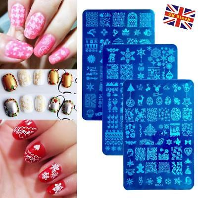 10 X Nail Art Stamp Stamping Plate Set 210 Styles Stamp Images