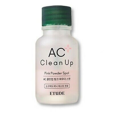 [Etude House] AC Clean Up Pink Powder Spot 15ml / EXP 2021.11.08