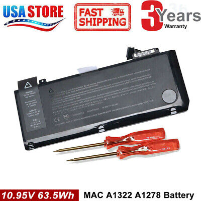 "NEW A1322 Battery For Macbook Pro 13"" A1278 Mid 2009/2010/2011/2012 TOP Quality"