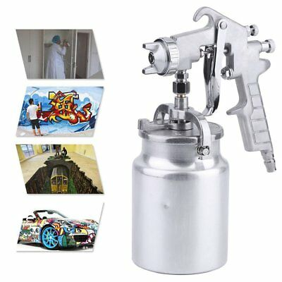 Air Compressor Paint Spray Gun Car Auto Truck Sprayer DIY1.4mm Nozzle 1000cc MA