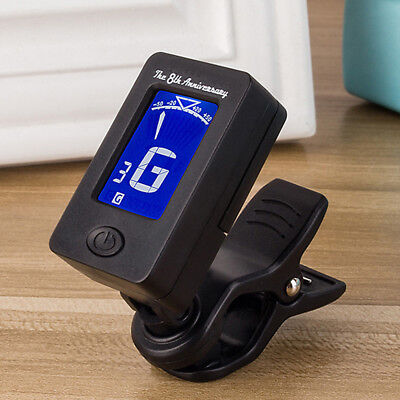 Digital Guitar Tuner LCD Clip-on for Acoustic Electric Guitar Bass Violin Part