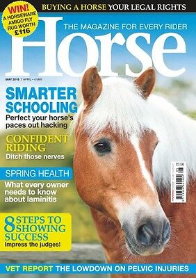 Horse Magazine May 2016 (BRAND NEW BACK ISSUE)