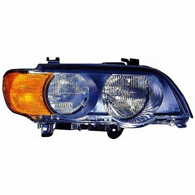 Headlight Assemblies Depo 344-1120R-AS2Y BMW X5 Passenger Side Replacement NEW