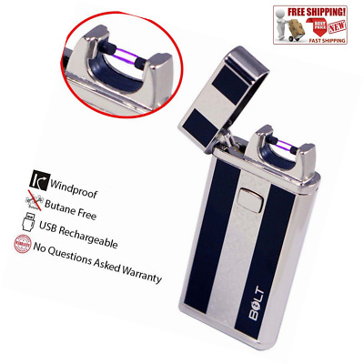Atomic USB Electronic Lighter Electric Plasma Arc Flameless Lighter Rechargeable
