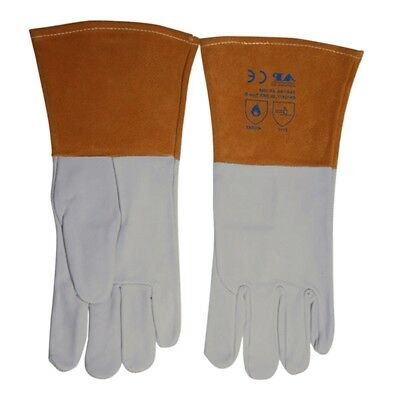 Welding Gloves Manufacturing Smelting Long Cuff Glove Workshop Safety Protection