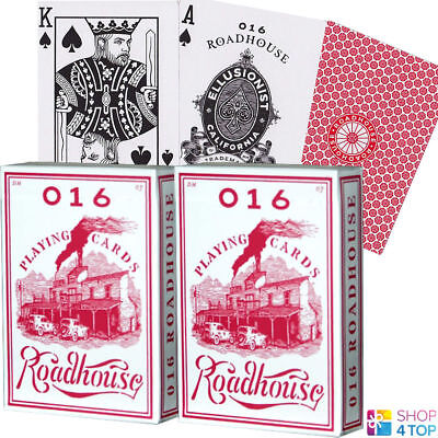 2 Decks Ellusionist Roadhouse Red Bicycle Playing Cards Magic Tricks Uspcc New