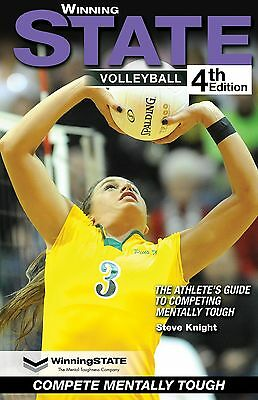 WINNING STATE VOLLEYBALL Mental Toughness Book The #1 Confidence Books in Sports
