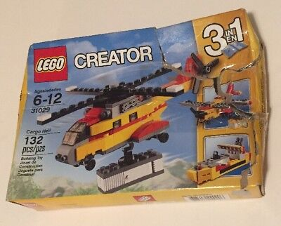 Lego CREATOR Cargo Helicopter 31029 - 3 in 1 Set -  BRAND NEW in SEALED BOX