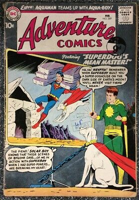Adventure Comics #269 (1960) 1st Appearance Of Aqua-lad.