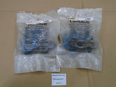"""C1 Campbell 699-1634 Forged 1"""" Wire Rope Clip Lot of 2 pcs. NOS"""