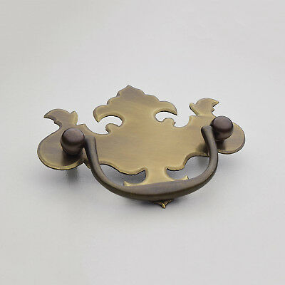 "C-602S 2-1/4"" Solid Brass Chippendale Drawer Pull"