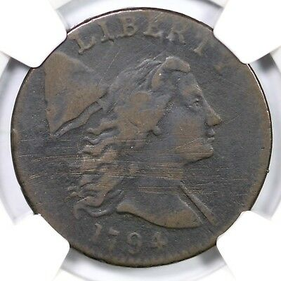 1794 S-21 NGC VF Details Head of 94 Liberty Cap Large Cent Coin 1c
