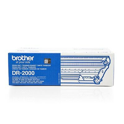 Bildtrommel Original  Brother Fax 2920 / DR-2000 Farblos