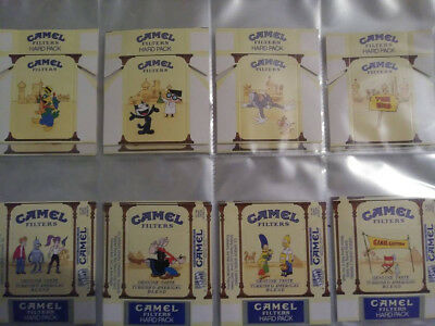 Super Rare Camel Cigarette Cartoon Packs (Hanna Barbera, Looney Tunes, and more)