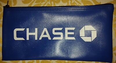 Chase Manhattan Bank Currency Dept Bag Money Deposit Sack Historical Memorabilia Collectibles