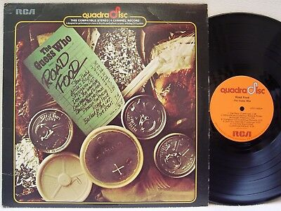 THE GUESS WHO - Road Food LP (RARE US QUADRAPHONIC Issue on RCA) MINT-