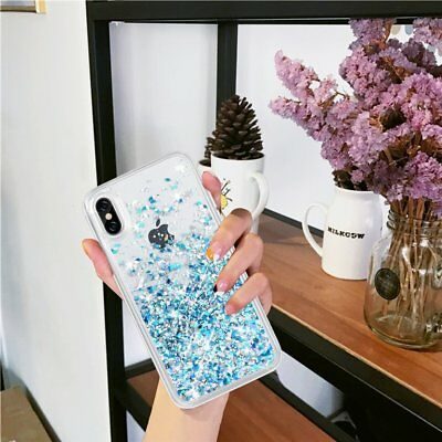 Glitter Liquid Sparkle Bling Quicksand Shockproof Case Cover for iPhone XR/8/7/6