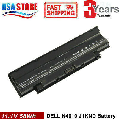 Battery for Dell Inspiron 14R N4110 N4010 N5010 N5110 N7110 M5010 M3010 J1KND