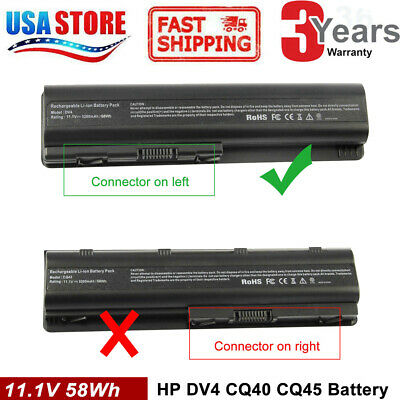 For HP Pavilion DV4 DV5 DV6 CQ40 CQ60 CQ61 484170-001 HSTNN-LB72 Laptop Battery