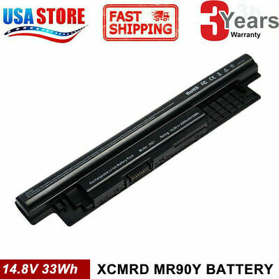 Battery XCMRD For Dell Inspiron 14-3421 15-3521 17-3721 40Wh 14.8V 4 Cell