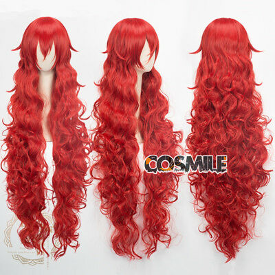 Houseki no Kuni Padparadscha Cosplay Curly Hair Wig Land of the Lustrous Anime