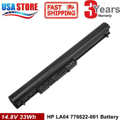 Battery / Charger for HP Pavilion 14 15 TouchSmart Series 776622-001 775625-221