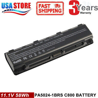 LAPTOP BATTERY FOR Toshiba Satellite C855-S5206 C855-S5214 C855D