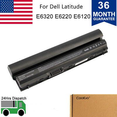 Battery for Dell Latitude E6120 E6220 E6230 E6320 E6330 E6430S 3W2YX J79X4