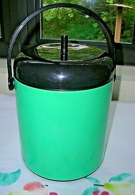 """Vintage Teal Crown Corning Thermique Mini Small Ice Cooler Japan JPE-1200 8"""""""