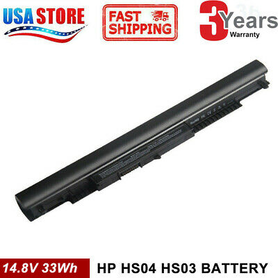 NEW For HP 4-CELL BATTERY HS03 HS04 HSTNN-LB6V 807957-001 807956-001