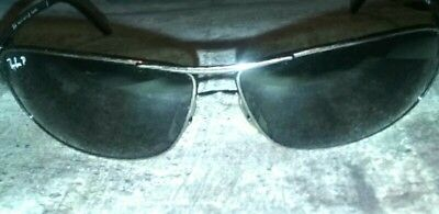 a5005c1e79 Ray Ban Sunglasses Polarized RB 3343 004 58 Gunmetal - Sport Style CLEAN -  Italy