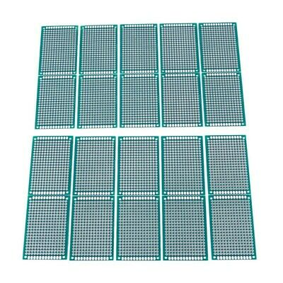 20PCS  Double side Prototype PCB Tinned Universal board 4x6 4*6cm M33