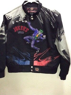 Batman Jokers Wild Kids Comic Book Hero Jacket by JH Design  Boys Size XL  11-12